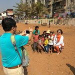 Pic with kids.
