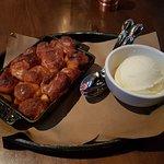 Monkey bread - cinnamon apple brioche & vanilla ice cream.