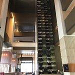Tall grand looking lobby entrance area