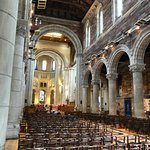 St. Anne's Cathedral - main nave and choir rehearsing