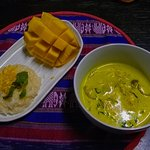 Green Curry and Mango Sticky Rice
