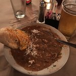 Gumbo with French Garlic Bread