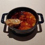 creme catalana met amandel biscuit