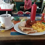 Western/ Bahamian/ Jamaican breakfast