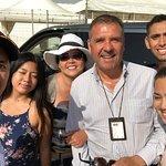 Civitavecchia Port with Family and Gilberto