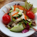Salade voor drie personen