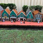 Cute miniature Dutch buildings