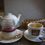 Чай и панна-котта)