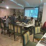 Very busy restaurant