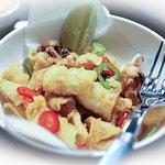 Calamars Frits - Fried Calamari with Yuzo Mayonnaise