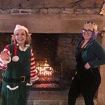 Christmas Fun with the staff.