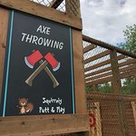 Try your lumberjack skills