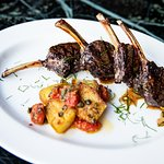 Grilled lamb Cutlets with Pan-fried la Ratte Potatoes