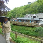 It was raining that day, but the walks around the sawmill are beautiful, especially the lovely village of Berrynarbor