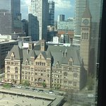 """Picture of """"Old City Hall"""" taken from our room on the 24th floor"""