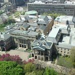Picture of the of the Law Society of Ontario taken from our hotel room