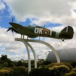 The Hawker Hurricane of Sir Keith Park stands guard at the entrance to the Museum. It is well worth making the journey out from the city centre.
