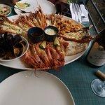 karışık deniz ürünleri tabağı