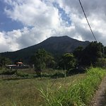 Mount Batur - looks small from here