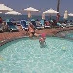 detsky bazen so slanou vodou