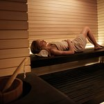 Enjoy one of the seven types of sauna we have.