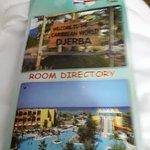pancarte de l'hôtel