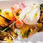 Mélimélo de Légumes grillés, Mozzarella Burrata crémeuse © Hervé Leclair/Aspheries.