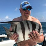 Not a common catch here in Clearwater but this spadefish was cool to see!