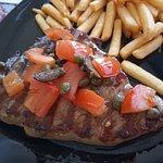 Tuna steak from the island
