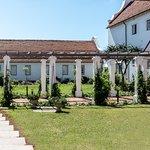 The entrance to Botha House through the lovely courtyard garden