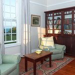 Our lovely library where you can sit quietly and enjoy the view out to sea or read some interesting books all about South Africa