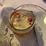 Panna Cotta con frutti rossi