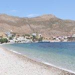 Livadia beach port side