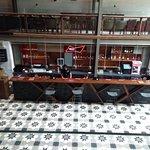 The Loft Bar area and dance floor