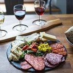 ภาพถ่ายของ Delicious Cheese and Wine