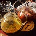 Облепиховый чай и чай грейпфрут-клюква