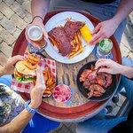 Ribs, wings and Camel Rock burger