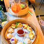 Pełną Parą - pierogi z kimchi oraz kaczka