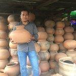コンポンチュナンにて陶器作り工房