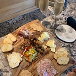 Charcuterie Board with Bubbles!