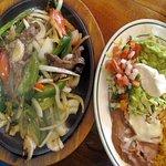 Vega's Mexican Grill Mexico MO....lunch steak fajita by Carl H. =)~