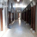 Il corridoio di accesso alle stanze dei Grandi di Tunisia
