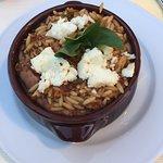 Lamb orzo pasta