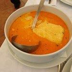 """soup of """"strukli"""""""