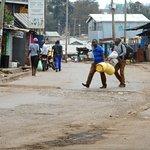 A road of Kibera