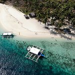 Island hopping to nearby islands aboard Keelooma's boat