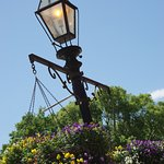 One of the lamp posts