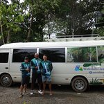 Awesome team and comfortable bus
