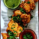Luscious Chicken pakoras