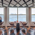 Interior of Nairu restaurant in Four Seasons - First Nile Boat